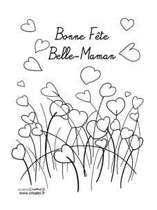 Des Coloriages Pour Belle Maman La Fête Des Mères