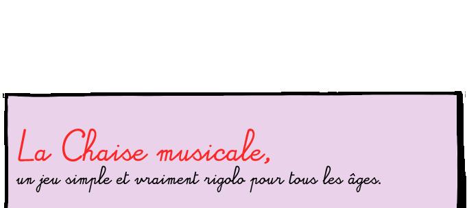 Jeu De La Chaise Musicale